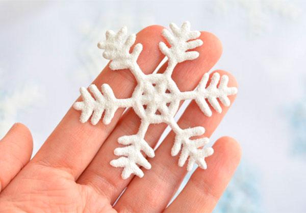 Оригинальные снежинки