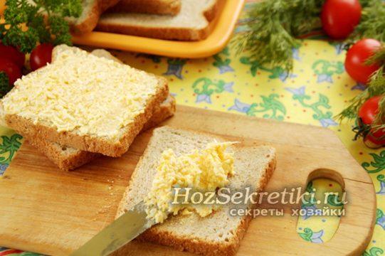 хлеб намазать намазкой