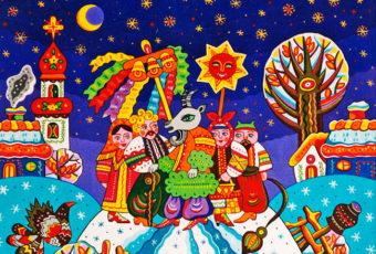 Колядки, щедровки, посевалки на Старый Новый год 2019