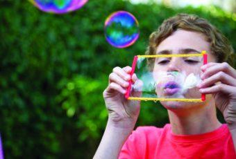 Рецепты хороших мыльных пузырей в домашних условиях