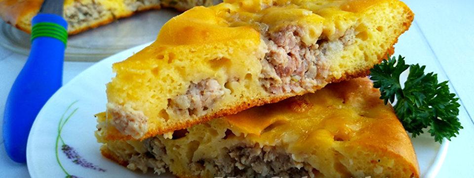 Пирог с мясом — проще не бывает
