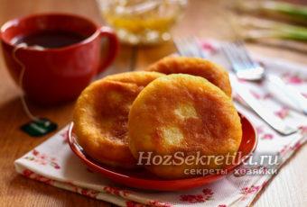 Быстрые пирожки за 10 минут – вкусные и очень простые