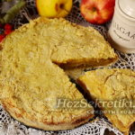 самый простой яблочный пирог