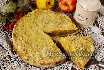Пирог из яблок самый простой в мире