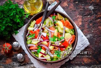 Салат из 3-ех продуктов на каждый день