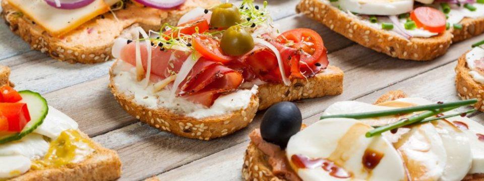 Новогодние бутерброды: пошаговые рецепты с фото и видео