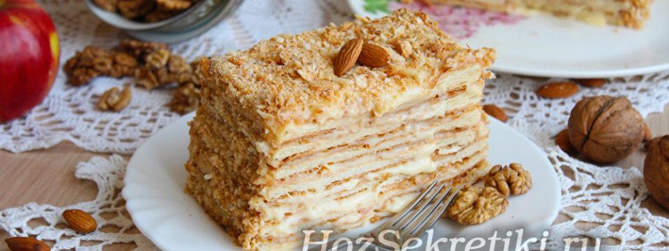 Легкий и быстрый торт «Наполеон»