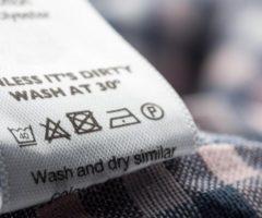 Значки на одежде для стирки: особенности расшифровки