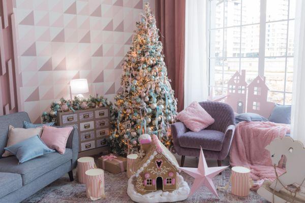 Как украсить комнаты: модные идеи к Новому году Свиньи