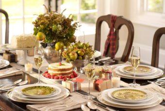 Изысканная сервировка стола в домашних условиях