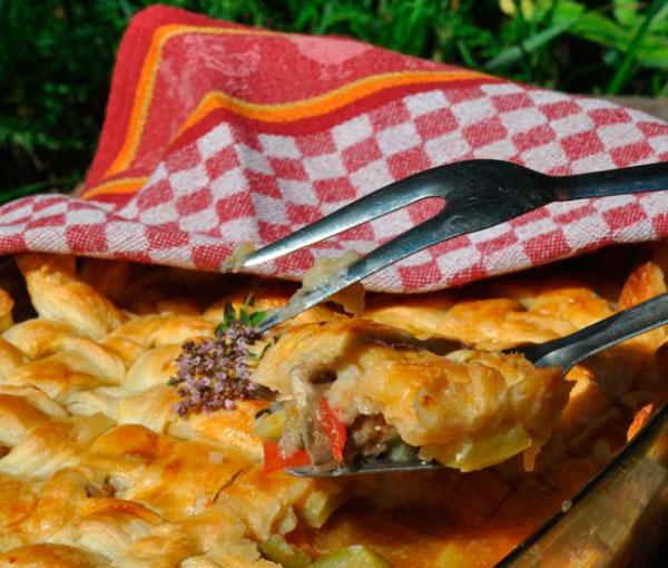 Овощное горячее к праздничному столу