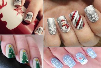 Новогодний маникюр 2019: оригинальные идеи дизайна ногтей