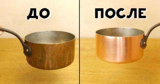 как почистить медь