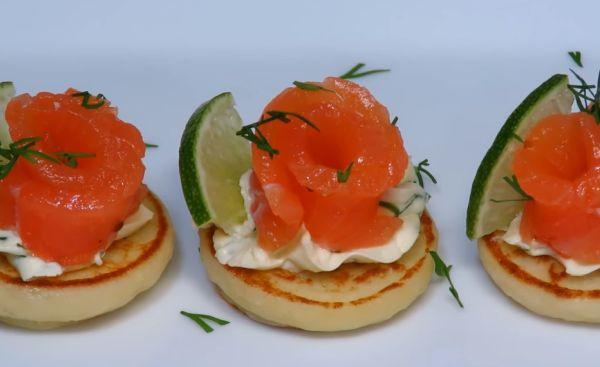 Холодная закуска из лосося