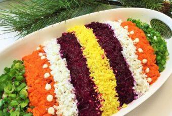 Новогодние рецепты салатов 2019: топ-11