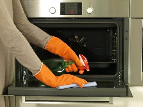 пиролитическая очистка духовки