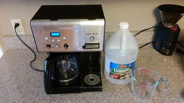 чистка кофемашины от накипи