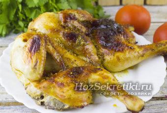 Цыпленок табака с хрустящей корочкой – вкусный рецепт
