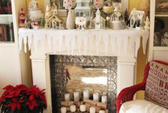 Украшение дома на Рождество своими руками 2019