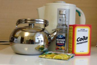 Как очистить чайник уксусом от накипи: простые методы, пропорции раствора