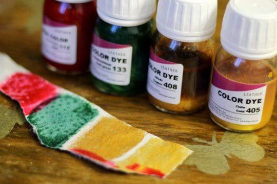 как покрасить кожу