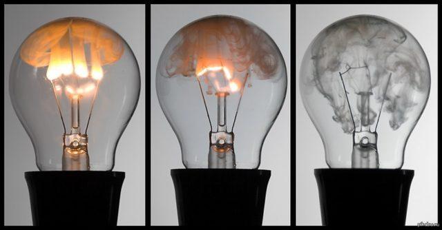 лампочки перегорают