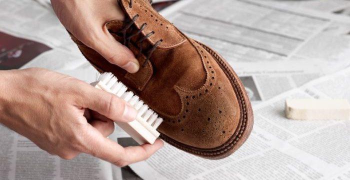 Как почистить замшевую обувь в домашних условиях от соли быстро и просто