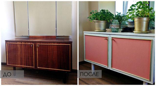 окраска полированной мебели