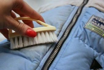 Как вывести жирные пятна на пуховике: простые эффективные методы