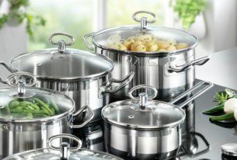 Выбор посуды из нержавейки, чугуна и эмали для индукционной плиты