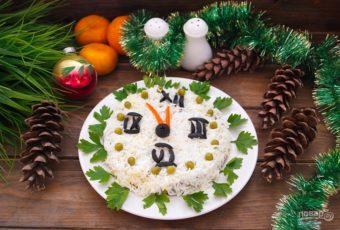 10 салатов на Новый год 2019 с курицей