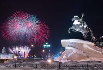 Где встретить Новый год 2019 в Санкт-Петербурге
