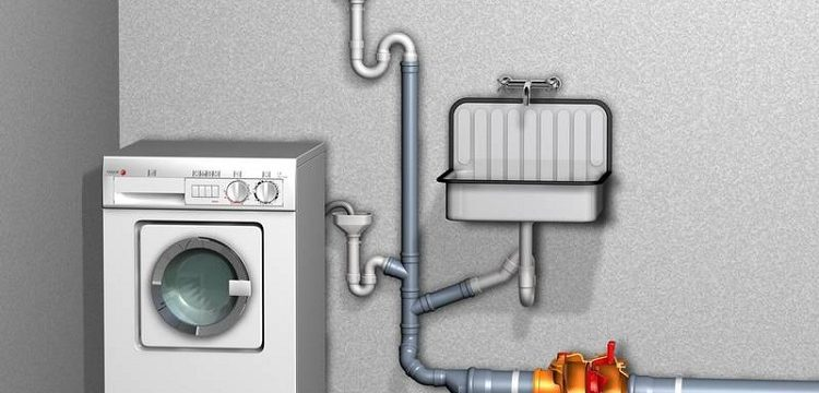 Подключение стиральной машины к канализации и водопроводу: способы, схема, инструкция как установить своими руками