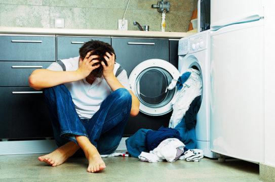 стиральная машину шумит