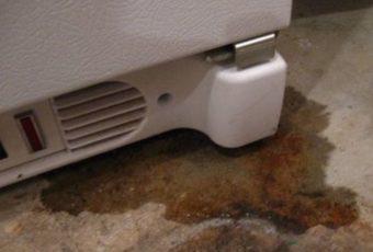 Течет холодильник снизу, внутри: причины, поломки, как устранить