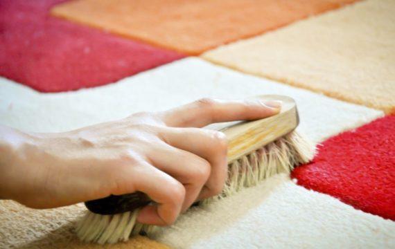 избавиться от запаха мочи на ковре