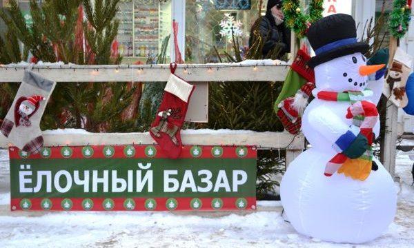 Где будут проводиться елочные базары в Москве 2018: адреса, цены