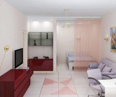 Как правильно расставить мебель в однокомнатной квартире