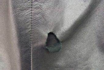 Как отремонтировать кожаную куртку в домашних условиях, если она порвалась