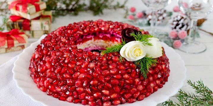 Необычные салаты на праздничный стол: пошаговые рецепты с фото