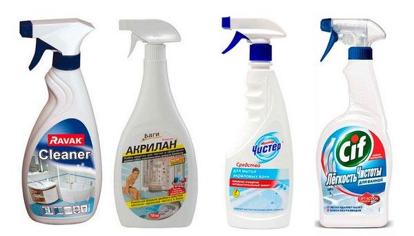Средства для мытья ванны: чем чистить разные виды ванн, рейтинг лучших моющих средств