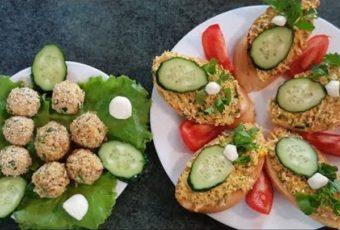 Рецепты вкусных бутербродов с печенью трески на праздничный стол