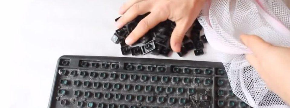 Как почистить клавиатуру просто и эффективно