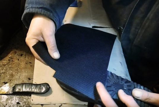 лопнула подошва на обуви