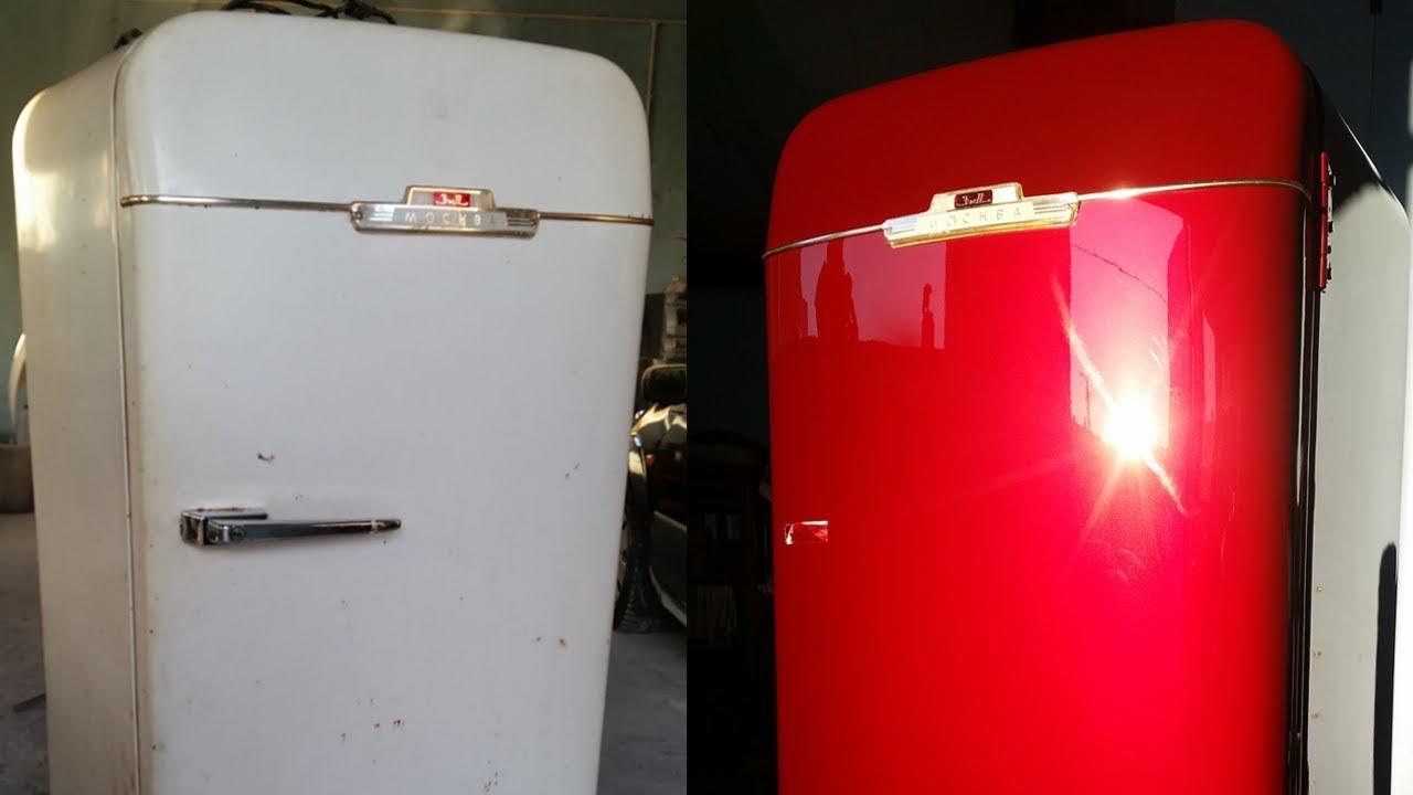 Как покрасить холодильник своими руками: инструкция в домашних