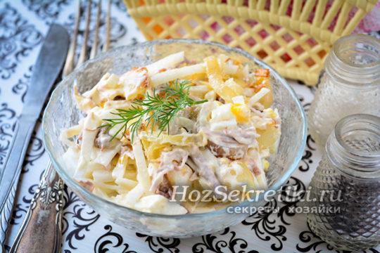салат Ташкент классический рецепт