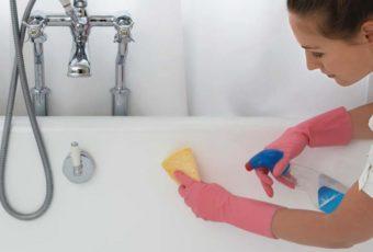 Как и чем очистить ванну от желтого налета в домашних условиях