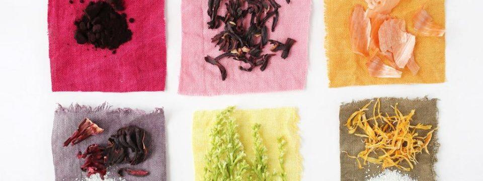 Как покрасить ткань в домашних условиях натуральными красителями
