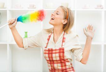 Как полюбить уборку?