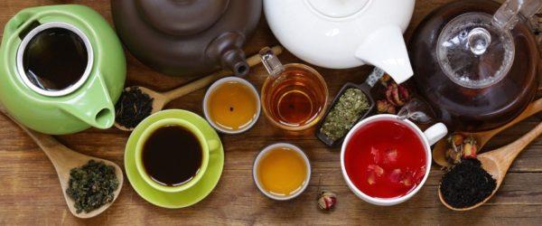 Процесс заварки чая